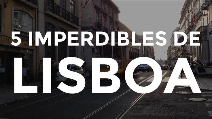 Los 5 imperdibles de Lisboa son algunos de los datos de la Guía Mapa de Portugal : https://tienda.dediosonline.com/europa/guia-mapa-de-portugal/