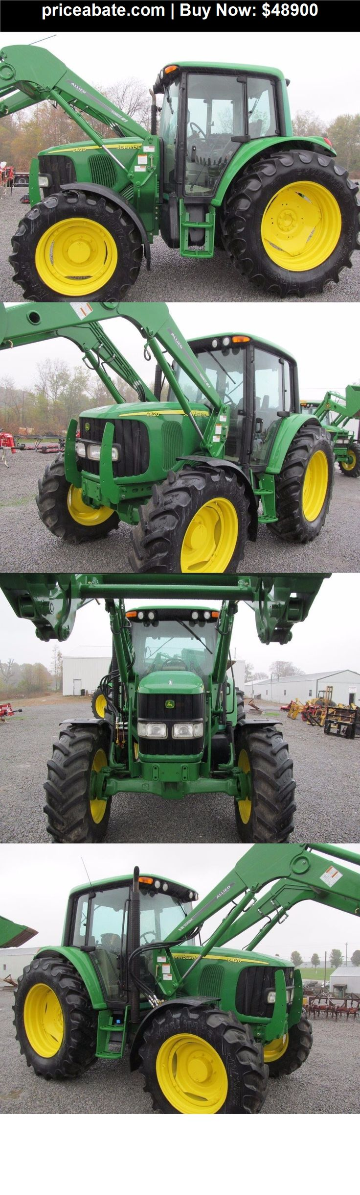 Heavy-Equipments: John Deere 6420 Diesel Tractor 4 X 4 With Cab & Allied Loader - BUY IT NOW ONLY $48900