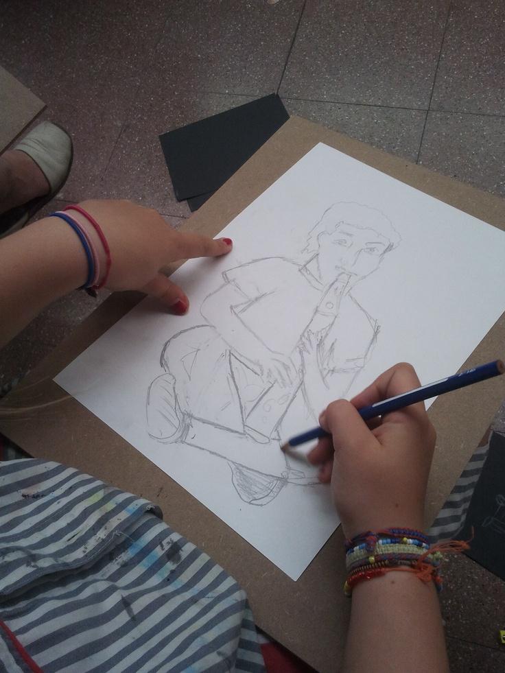 """Taller model al natural """"mùsica"""",  curs 2011/12   www.escolatrac.com"""