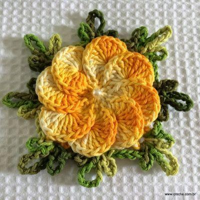 Tapete retangular passo a passo - www.croche.com (2)
