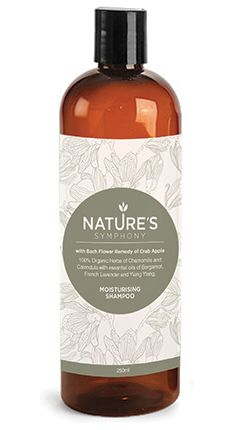 Nature's Symphony Moisturising Shampoo with Crab Apple Bach flower Remedy...
