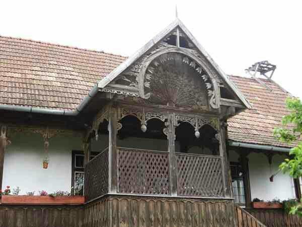 Traditional architecture Kalotaszeg Transylvania