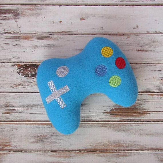 Geek Gift Ideas For Geeky Babies | Video Game Controller Stuffed Toy