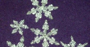 The Beading Gem's Journal: Beaded Snowflake Tutorials for Jewelry Making