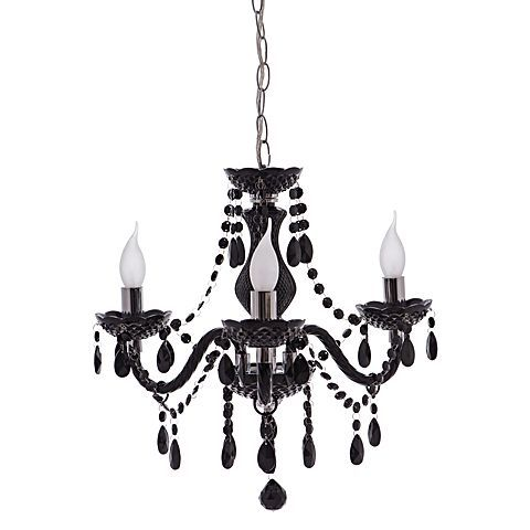 Intensify the glam look of your décor with the intricately detailed Ita Chandelier, Black from Rouge Living.