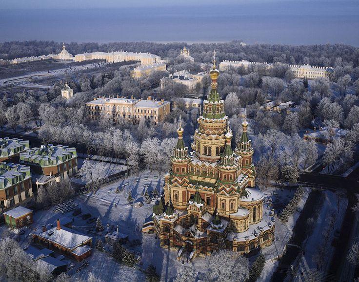 Потрясающие фотографии Санкт-Петербурга с воздуха | The Travel Watch