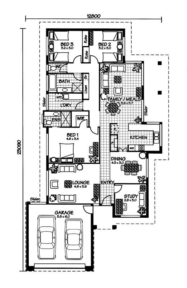 Australian Farmhouse House Plans