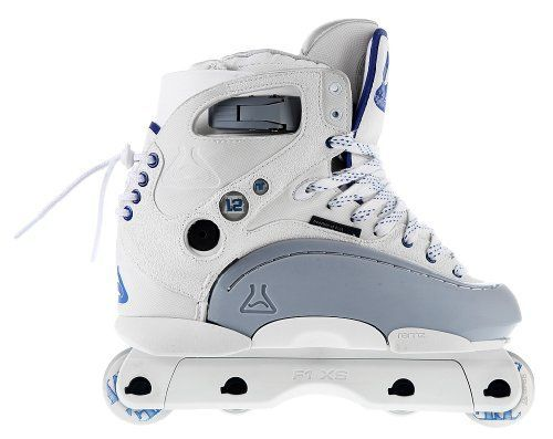 Jam Roller Skates - Remz HR 12 Aggressive Skates White  SIZE 8 ** Details can be found by clicking on the image.