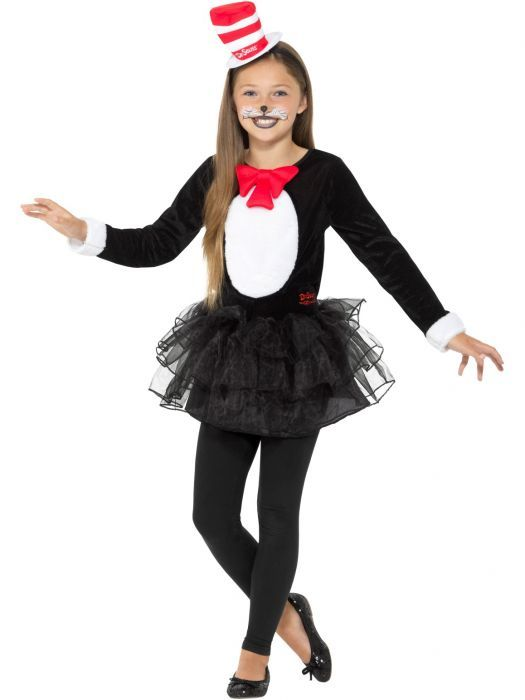 The 25 best cat costume kids ideas on pinterest kitten cat in the hat costume for world book day solutioingenieria Image collections