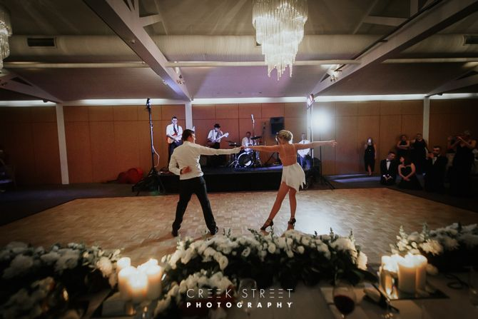 Bride and groom Sergeants Mess wedding latin dance #weddingdance #firstdance #latinweddingdance #sergeantsmesswedding
