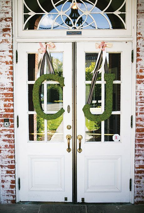 Moss Monogram Wedding Ceremony EntranceKeywords: #weddings #jevelweddingplanning Follow Us: www.jevelweddingplanning.com  www.facebook.com/jevelweddingplanning/