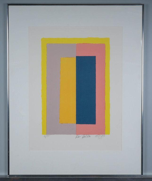 Kari Huhtamo, 1987, serigrafia, 53x40 cm, edition 16/35 - Huutokauppa Helander 1/2016