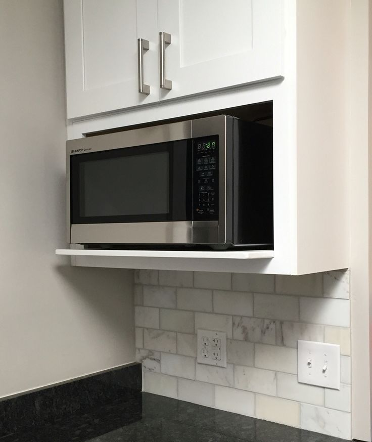 Kitchen Cabinets For Microwave: 25+ Best Ideas About Microwave Shelf On Pinterest