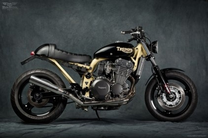 17 best images about triumph triples on pinterest for Garage seat nice