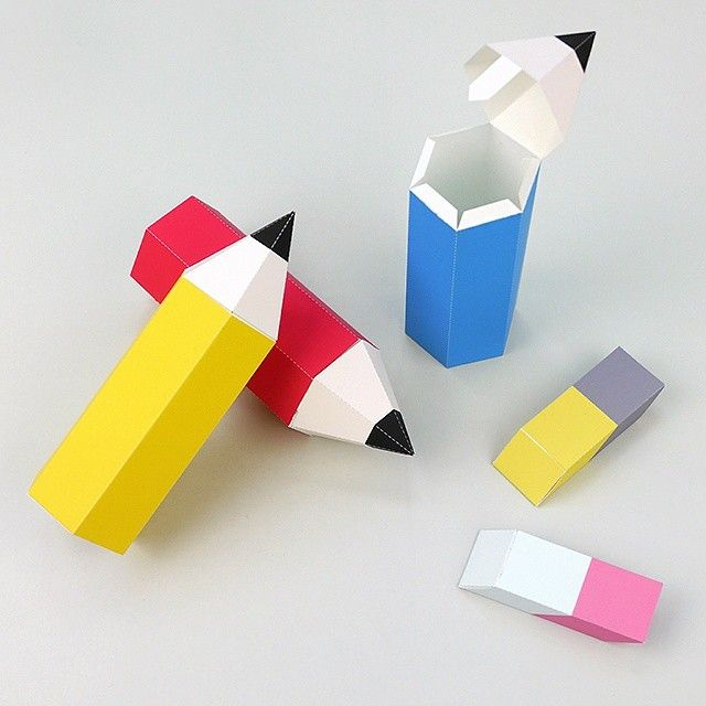 We're hiding some treats inside the pencil & eraser boxes, but shhh, let's just say we're doing our homework  Pencil box templates under Back to school or Party Favors