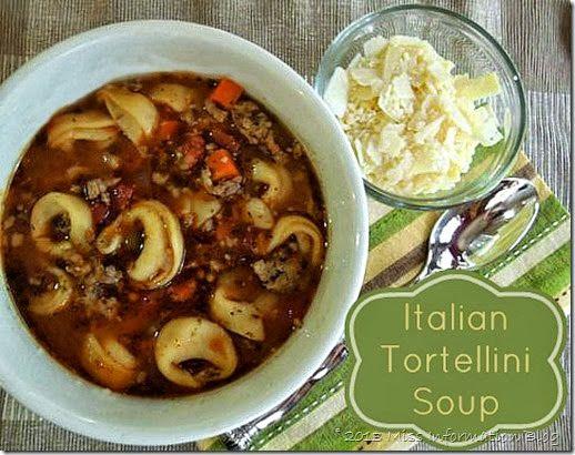 Italian Tortellini Soup   Miss Information
