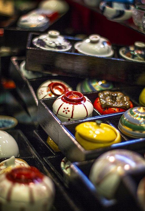 Kyoto's Nishiki Market. Photograph by Katherine Mossop on 500px