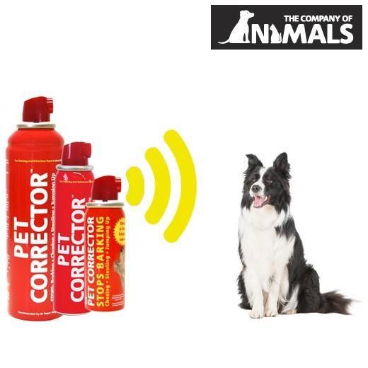 """Vaporisateur éducatif sonore """"PET CORRECTOR""""  -Permet Une éducation en douceur.  -Permet d'interrompre le chien Dans SES mauvais Comportements en attirant l'attention de fils Grâce au jet d'air sonore -Corrige les Comportement: aboiement, chien qui vous saute Dessus, dégats plongeurs-3 formats: Format de poche de 30 ml.5.60e- 50 ml- 7.40e-  200 ml- 13.00e"""