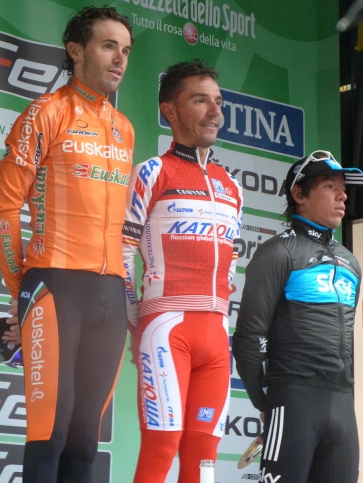 Il podio con i primi tre classificati!
