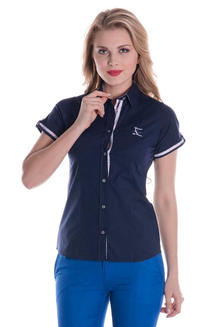 Vendita Giorgio Di Mare / 26272 / Donna / Polo e camicie / Camicia Blu Scuro