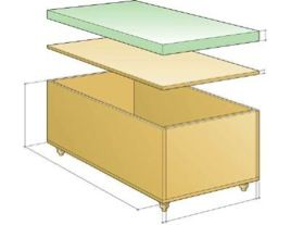 box assembly 1 HOW TO: MAKE AN UPHOLSTERED STORAGE OTTOMAN   Functional & Fashionable Furniture in a Few Easy Steps!