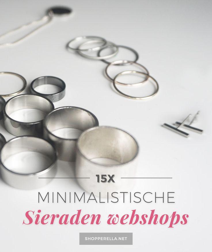 15 Minimalistische sieraden webshops en merken