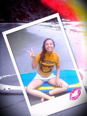 PinkCharm: Minha experiencia na aula de surf!