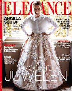 3x Elegance € 9,95: Elegance: een klassiek voorbeeld van een modern tijdschrift.