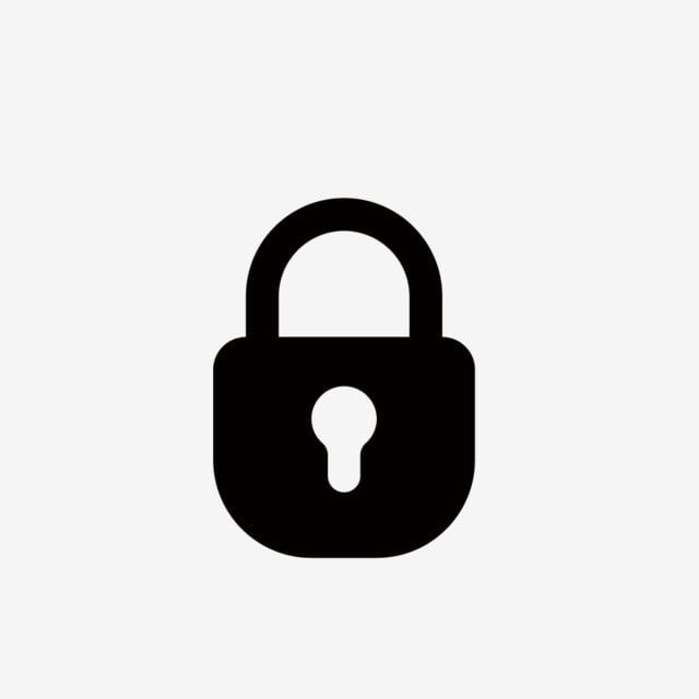 Black Lock Icon Black Lock Icon Lock Png And Vector With Transparent Background For Free Download Lock Icon Lock Logo Icon