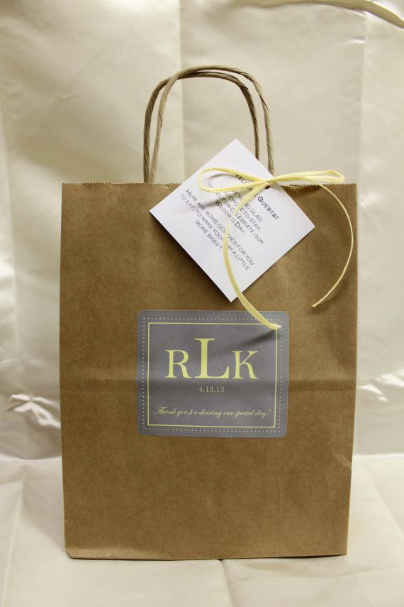 Wedding Welcome Bags Anthropology Woodland by absolutelyeva
