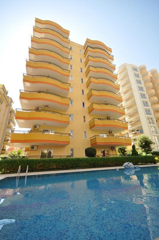 Möblierte Wohnung 2+1 in Mahmutlar/Alanya