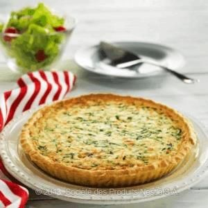 Spicy Crab & Spinach Tart Recipe - Nestle Family ME