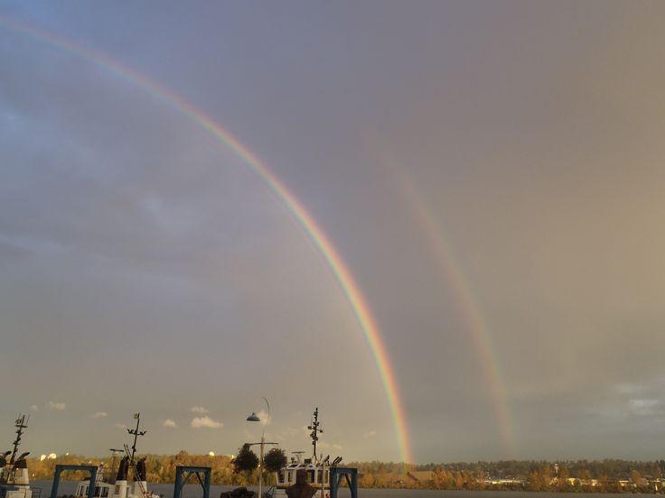 Not a bad duo-rainbow shot!