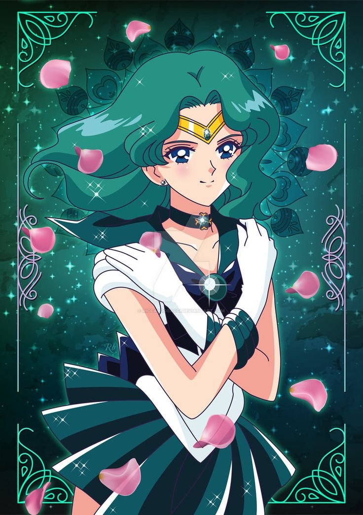 Sailor Neptune by riccardobacci.deviantart.com on @DeviantArt