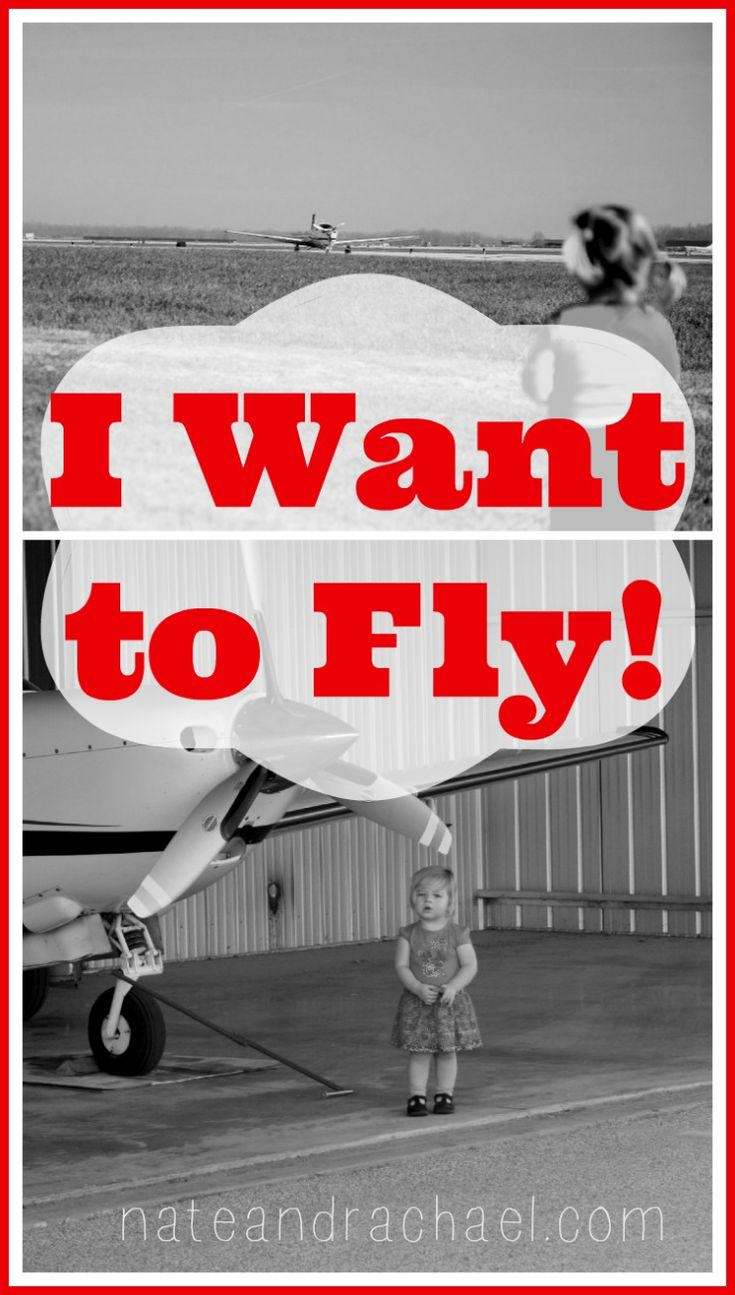 I want to fly! Encourage your little one's interest in airplanes using these tips from the family of a pilot.