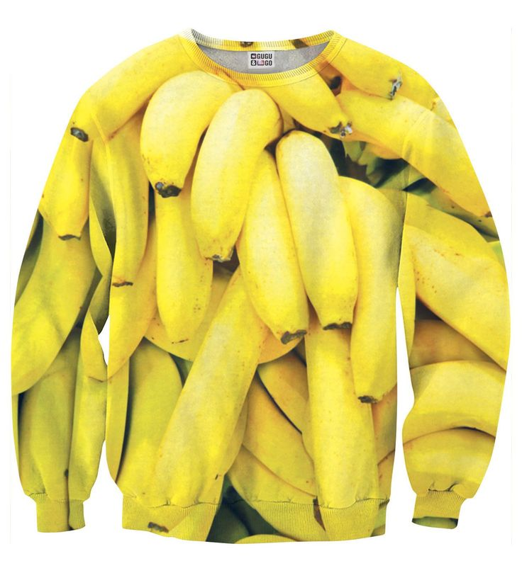 Bananas sweater, Mr. GUGU & Miss GO