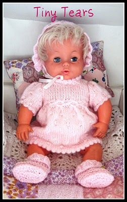 Tiny Tears Knitting Patterns : 17 Best ideas about Tiny Tears Doll on Pinterest Vintage dolls, Vintage toy...