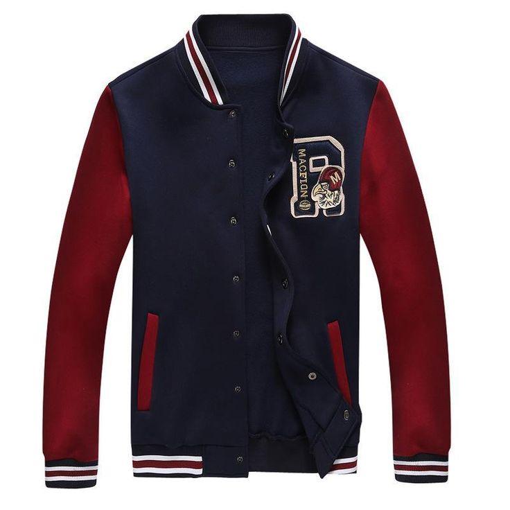 Jaqueta College Sport Jacket Baseball Cardigan Men Sportswear Mens Hoodies And Sweatshirts Tracksuit Men's Coat Man Hoody - http://nklinks.com/product/jaqueta-college-sport-jacket-baseball-cardigan-men-sportswear-mens-hoodies-and-sweatshirts-tracksuit-men-s-coat-man-hoody/