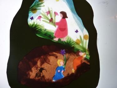 Root Children, Steiner/Waldorf window transparency