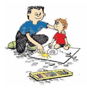 Spel aan huis voor ouders en kinderen die een extra zetje nodig hebben.