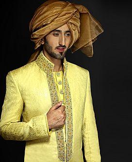 Men Bespoke Sherwani Suits Designer Sherwanis Pakistani Groom ...