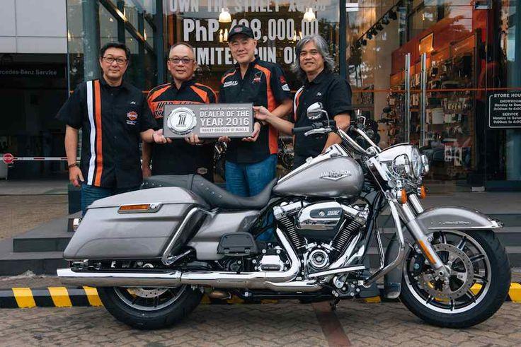 AutoIndustriya.com /  Harley-Davidson of Manila |  April 24, 2017 17:14First Philippine Harley dealer to receive awardHarley-Davidson of Manila has been awarded the Harley-Davidson Asia Emerging Markets (AEM) Dealer of the Year 2016.   #Asian #dealer #HarleyDavidson #Manila #named #year