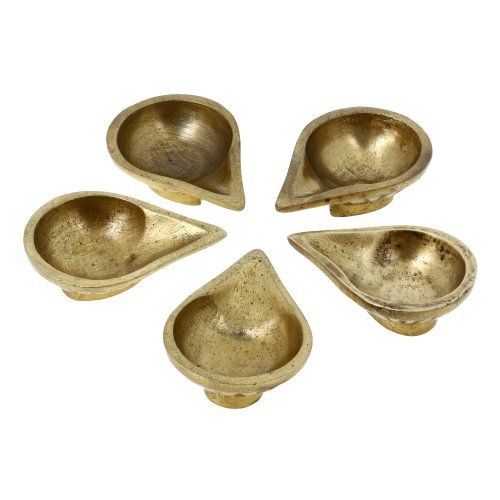 Brass, Handmade Oil Lamp, indian Diyas,Set of 5,2.75 inches ShalinIndia http://www.amazon.in/dp/B00FJ22GGK/ref=cm_sw_r_pi_dp_Gixaub0K2VY9V