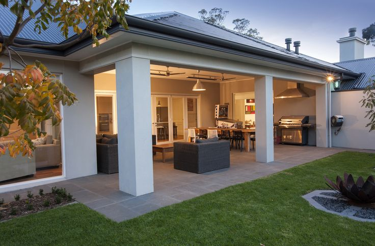 The gazebo overlooks the pool and back yard, creating a wonderful entertaining space for the whole family