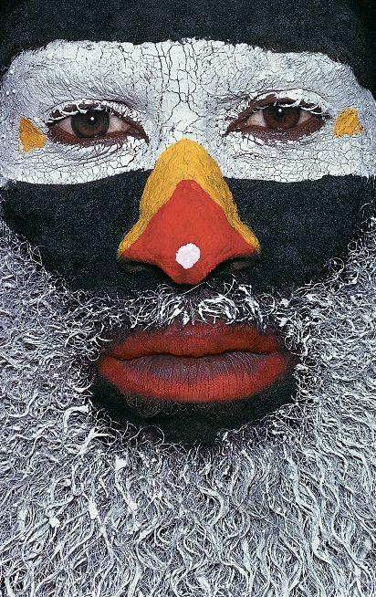 Tribus indígenas en Papúa Nueva Guinea