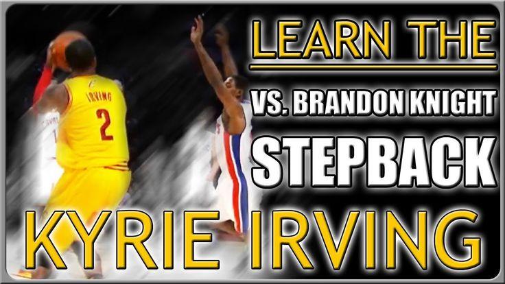 Kyrie Irving VS. Brandon Knight Crossover Stepback Move: Basketball Moves #kyrieirving #kyrie #irving #uncle #drew #nba #rip #brandon #knight #video #training #basketball