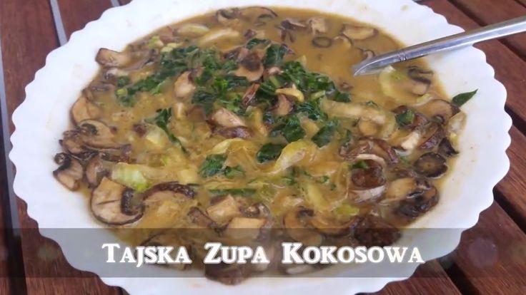 😋😋😋 Przepyszna zupka nr #3 Tajska-Kokosowa 🥥 👨🍳👩🍳