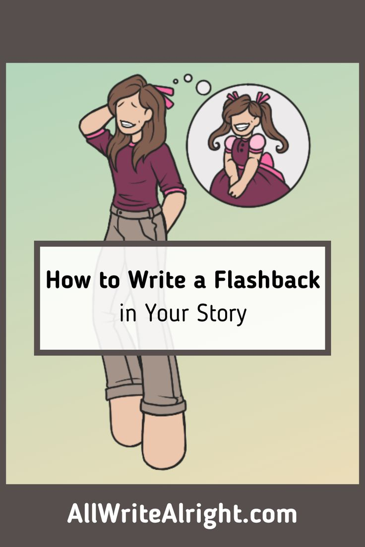 how to write a flashback in your story in 2021  book