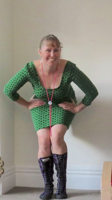 Create Hope Inspire - Netties dress by closet case files