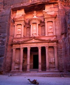 Petra in Jordan ~rose city~New Seven Wonders of the World ~ http://clrlv.rs/aKI0z3